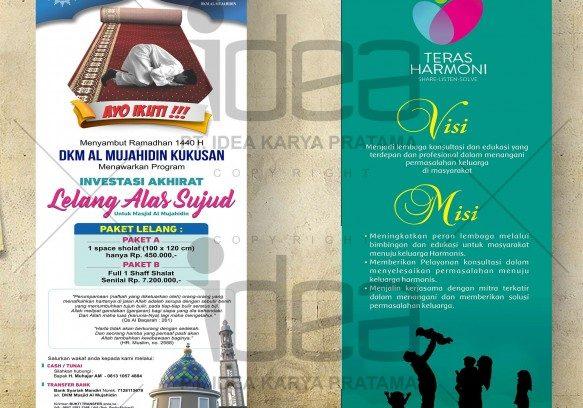 Roll Banner Teras Harmoni & Lelang Sejadah